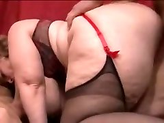 Sophia french plumper gang-fuck
