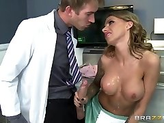 Medic Danny D tempts a nurse Juelz Ventura