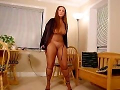 BBW Pantyhose Encased Dancing 2