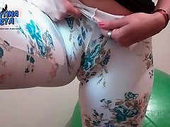 Ample Pussy Lips! Ample Cameltoe! Flower Intensity Latino