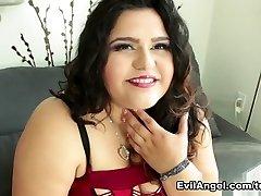 Karla Lane in Curvy Casting Daybed, Scene #04