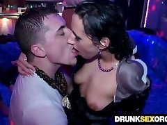 Filthy drunken sluts pummeling at the soiree