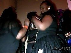 Building Party! - BBW THOT Cop Upskirt Twerk 2