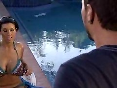 Pool bang with Dylan Ryder