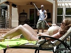 Milfs Like it Good-sized: Poolside Ravaging