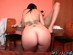 Girlfriends - British acquaintance shoots a load over