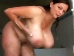 Huge Globes in Douche VR88