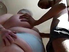 Fat Brit Mature Sucks DIck