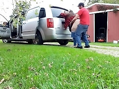 We got caught fucking on my dads trail web cam