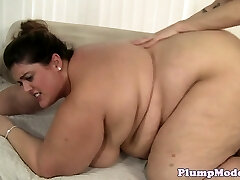 SSBBW honey with bigtits bentover and fucked