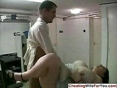 Humungous housewife cuckold fetish