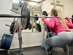 wow!!! fitness steaming RUMP steaming blonde