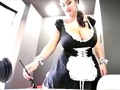 Leanne crow is a spectacular huge-titted maid