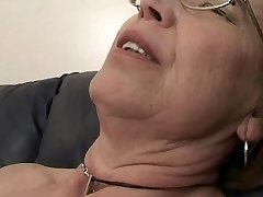 Grandmother enjoys sperm