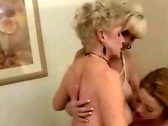 Two Mature Women & 1 Tight Lesbians