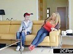 Mischievous British Mom Rebecca Moore Fucks Her Daughter'_s Boyfriend