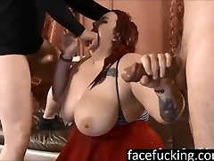 (fresh) Miserable BBW Curvy Quinn throat pounded to extreme