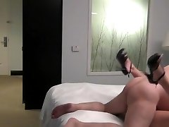 Phat ugly old boy fuck a young beauty escort in a hotel room