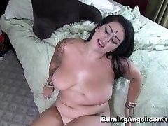 Incredible superstars in Amazing BBW, POV porn video