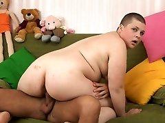 RUSSIAN SHAVEN IDIOT FATTY student HARDCORE