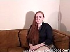 bbw redhead iowa college female disrobing down to her skivvies