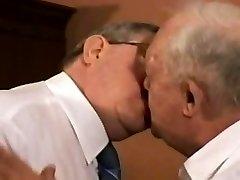Gay Aged Chub Couple