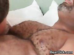 Faggot black bear has great sex as he bj's part6