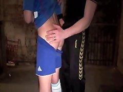 Horny coach & the innocent schoolgirl