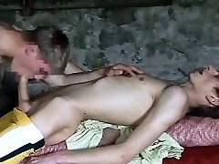 two super-cute cock youthful twinks in the boat house