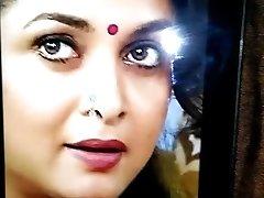 Ramya Krishna nasty cum douche