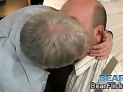Obese gay bears get acquainted part3