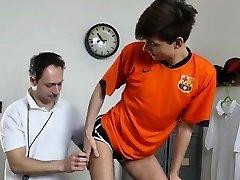 Dilf coach barebacking lean students ass