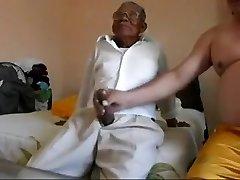 Senior man fucking the fat
