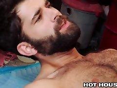 HotHouse Indulging That Unshaved Asshole