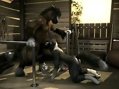 Dog and Horse (H0rs3 Animation)