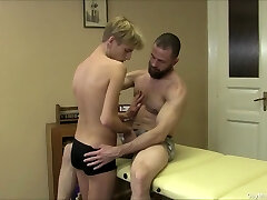 Young Twink Gives A Voluptuous Massage