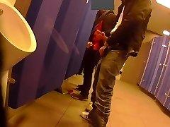 jerk in restroom :-)