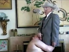 micboc's grandpas movie scene collection - Chubby Sucks Older Man