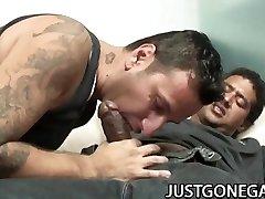 Max and Jake: Latino Daddies Homosexual Ass-fuck Act