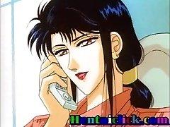 Hentai gay twink backside tongued n bareback fucked