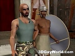 Bisexual Pharaoh 3D Cartoon Gay Anime Hentai