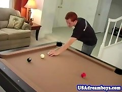 Ginger twink assfucked by all american