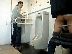 public rest room dildo