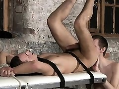 Amazing gay scene Two utterly hung guys in one video
