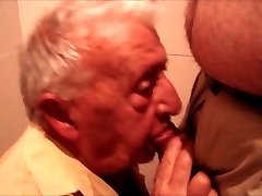 Not Grandpa gay fellate and swallow