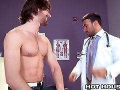 HotHouse Steamy Doctor Buttfucked by Aussie Bear