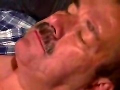 moustache dad hairy man