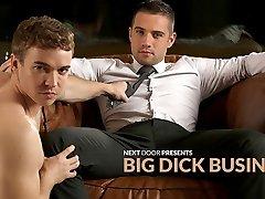 Dylan Knight & Gabriel Cross in Big Sausage Business XXX Vid - NextdoorBuddies