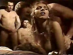 French Retro Group Sex in Hotel Room by TROC