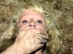Cute Blonde Gimp Duct Taped Classic